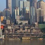 Chongqing – nad dwiema rzekami.