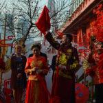 Chińska ceremonia zaślubin.