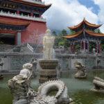 Dali Old Town, trzy pagody i jezioro Erhai.