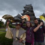 Matsumoto Castle i nasze pierwsze doświadczenie z couchsurfing'iem.