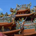 Cudne świątynie Tajpej.